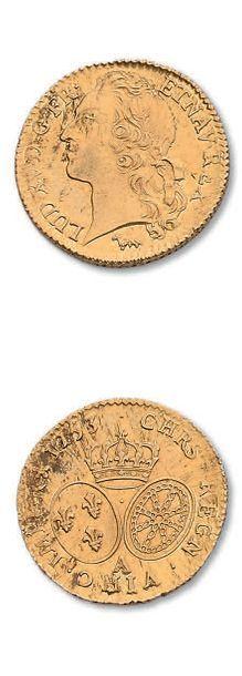 Louis d'or au bandeau, 1753. Paris. D. 1643. Superbe.