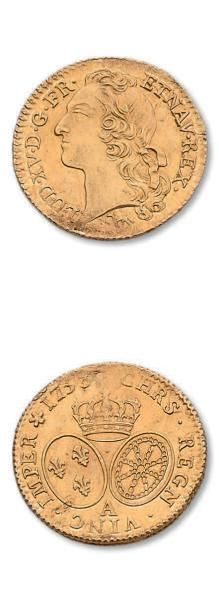 Louis d'or au bandeau, 1753. Paris. D. 1643....