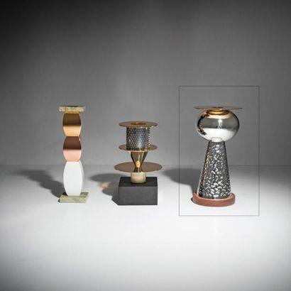 ETTORE SOTTSASS | 1917-2017 | Italie Vase modèle «German Silver» issu de la série...