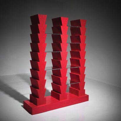 ETTORE SOTTSASS | 1917-2017 | Italie Bibliothèque modèle «Adesso Però» issue de la...