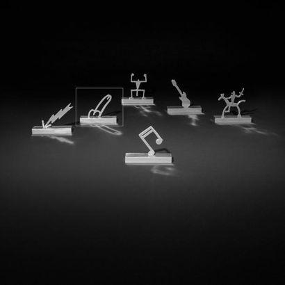 ANDREA BRANZI | Né en 1938 | Italie Sculpture graphique modèle «The Phallus» issue...