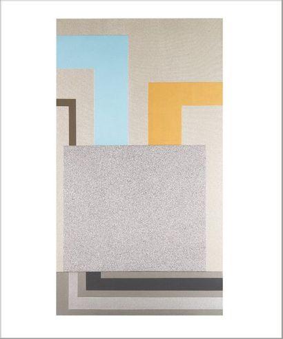 PETER HALLEY (NÉ EN 1953) Ghost Light, 2000 Acrylique et technique mixte sur toile....