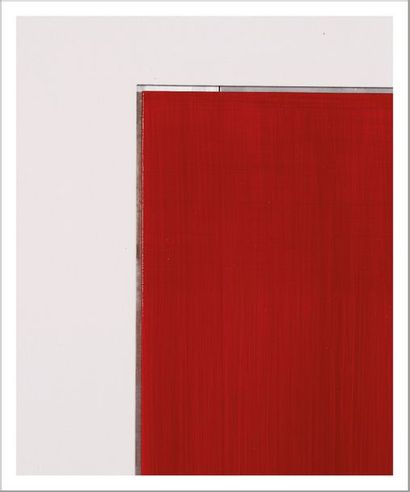 Imi Knoebel (né en 1940) Pure Freude 53, 2002 Acrylique sur aluminium. Signée et...