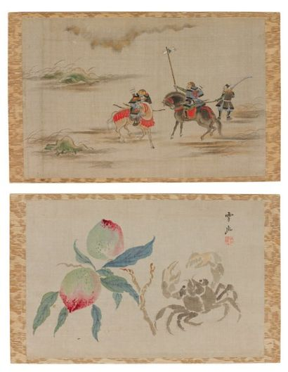 Divers artistes : Kiseki, Sekiyû, Sôzan,...