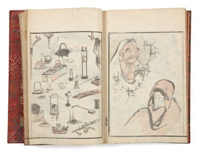 Lot de : a - Divers artistes : Eisen Keisai...
