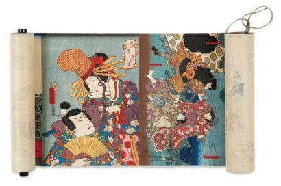 Divers artistes : Toyokuni III (1786-1865)...