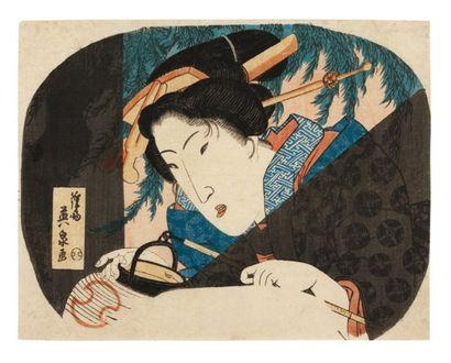 Eisen Ikeda Keisai (1790-1848)