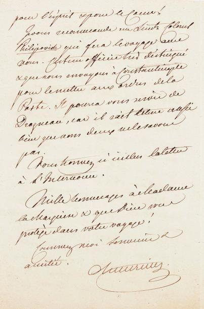 METTERNICH, Klemens, prince de (1773-1859)