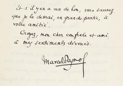 PAGNOL Marcel (1895-1974)