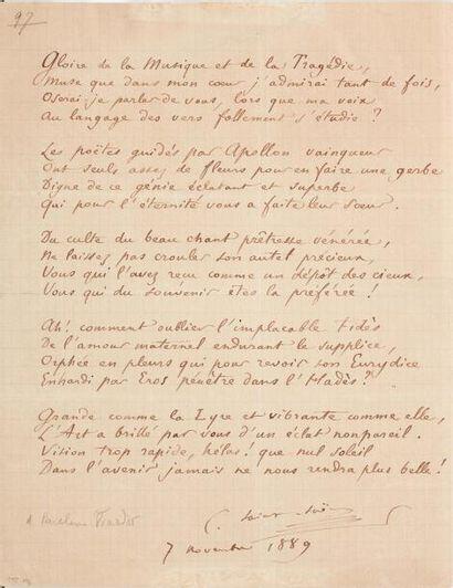 SAINT-SAËNS Camille (1835-1921)