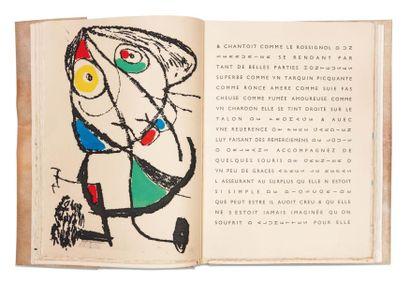 MONTLUC (A. de) Le Courtisan grotesque. Paris, Le Degré Quarante et un, 1974-1975,...