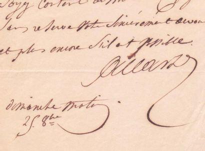 ALLARD Jean-François (1785-1839) Officier napoléonien, il poursuivit sa carriere...
