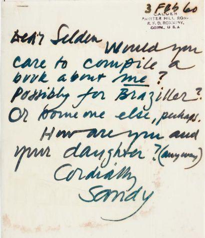 CALDER Alexandre (1898-1975)