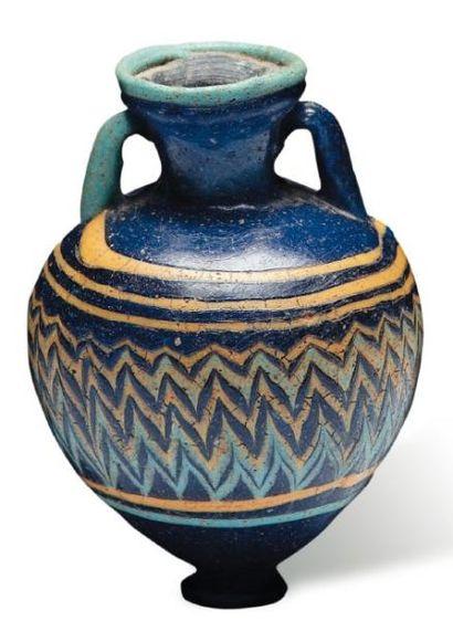 Portrait du Fayoum. Égypte, ca. 125-135...