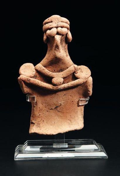 Buste de statuette représentant une déesse...