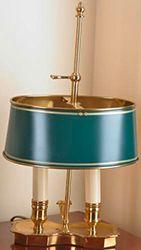 Paire de lampes bouillotes En bronze doré...