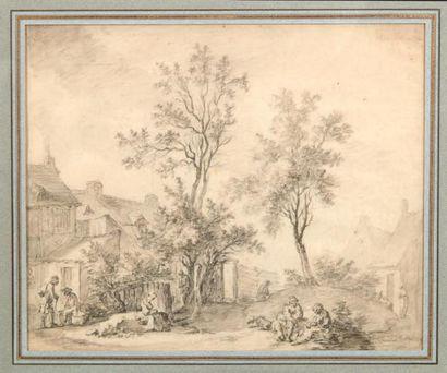 CHARLES ESCHARD (CAEN 1748-1810)