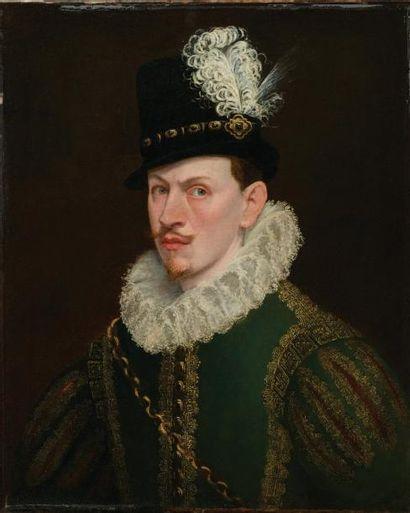 ATTRIBUÉ À JAN KRAECK DIT GIOVANNI CARACCA (HAARLEM C. 1550 - TURIN 1607)