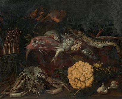 Attribué à Giuseppe RECCO (1634 - 1695)