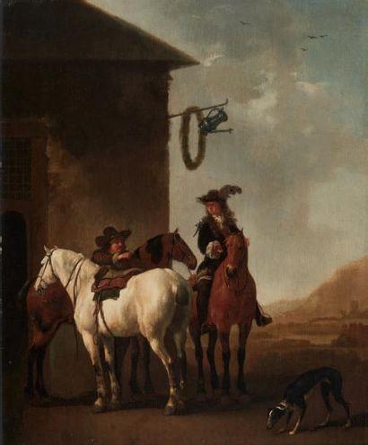 ATTRIBUÉ À ALBERT CUYP (1620 - 1691)