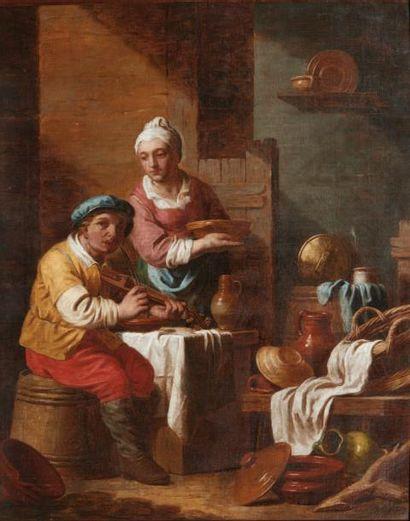 JEAN JOSEPH VERHAGHEN (AARSCHOT 1726 - LOUVAIN 1795)