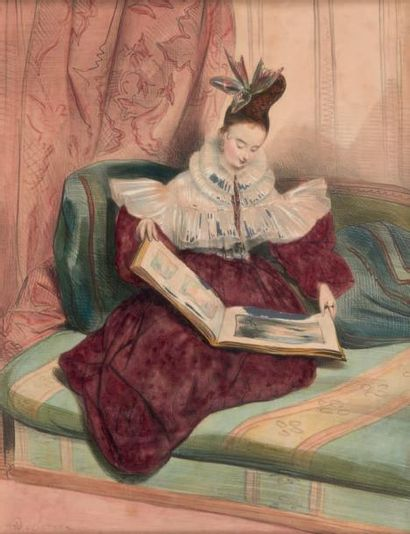 ACHILLE DEVÉRIA (1805-1865)