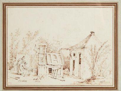 JAN-GEORG WILLE (1715-1808)