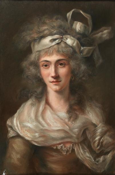ATTRIBUÉ À ANTOINE VESTIER (AVALLON 1740 - PARIS DÉCEMBRE 1824)