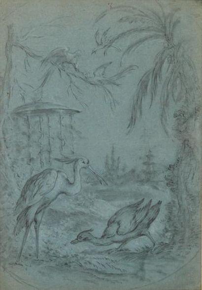 Attribué à Jean-Baptiste Oudry (1686-1755)