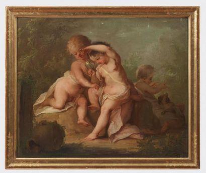 ÉCOLE VÉNITIENNE DU XVIIIE SIÈCLE, ENTOURAGE DE GIOVANNI ANTONIO PELLEGRINI