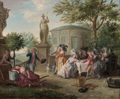 NICOLAS LAVREINCE (STOCKHOLM 1737 - 1807)
