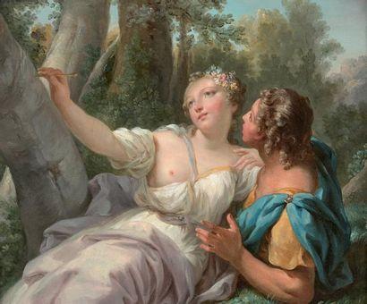 ATTRIBUÉ À JACQUES-ANTOINE BEAUFORT (PARIS 1721 - RUEIL 1784L)