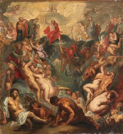 École flamande du XVIIe siècle, suiveur de Pierre-Paul Rubens