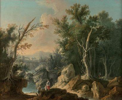 ATTRIBUÉ À LOUIS PHILIPPE CREPIN (PARIS 1772 - 1851)