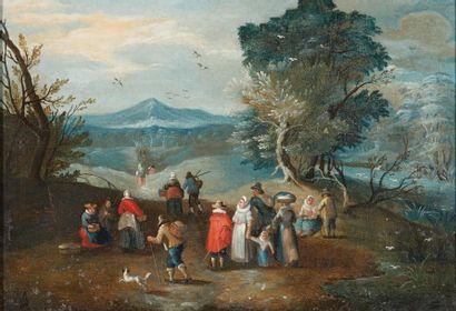 ÉCOLE FLAMANDE DU XVIIIE SIÈCLE, ATELIER DE CAREL BESCHEY