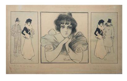 Francisque POULBOT (1879-1946).