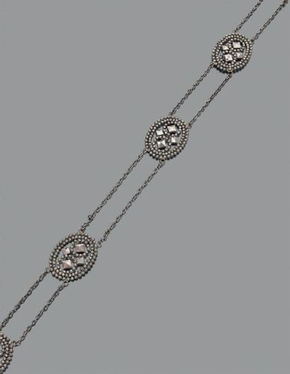 Ceinture en acier, articulé de 7 motifs de...