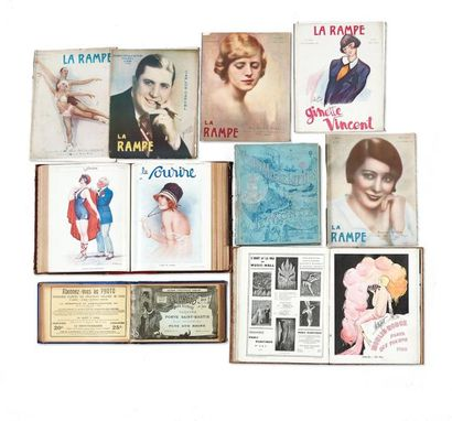Paris Music-Hall (1925 à 1937, 11 volumes)...