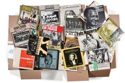 PLUS DE 500 VINYLES 33 TOURS Classiques du jazz, rag, orchestres de danse, américains...