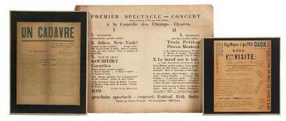 3 JOLIS DOCUMENTS Jean Cocteau, 1er spectacle,...