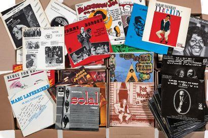 PLUS DE 500 VINYLES 33 TOURS Jazz (série RCA victor), Jazz français, chanteuses,...