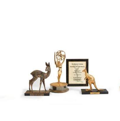 TROPHEES :EMMY AWARD 1963 Le plus prestigieux...