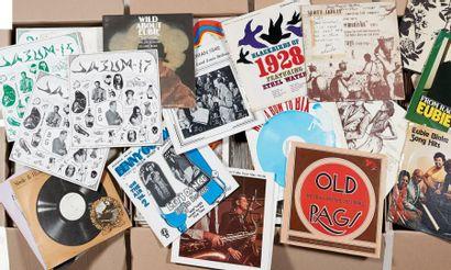 PLUS DE 500 VINYLES 30 CM Blues, Rag, Jazz,...