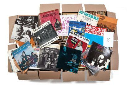 PLUS DE 500 VINYLES 33 TOURS Jazz, blues,...