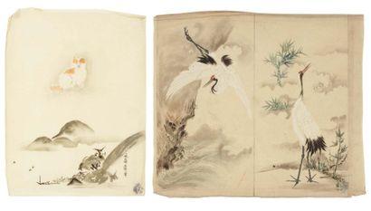 Divers artistes Japon: a - 10 dessins en...
