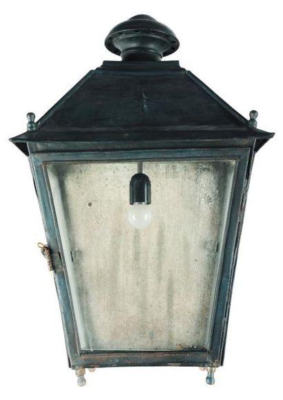 Lanterne en tôle H_67 cm