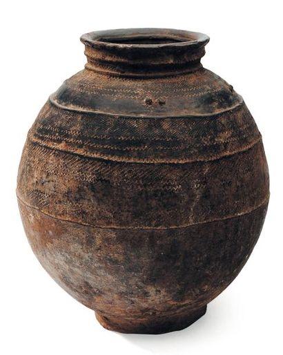 Ancienne jarre à eau Bambara, Mali.