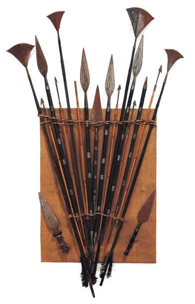 Original tableau présentant des flèches et...