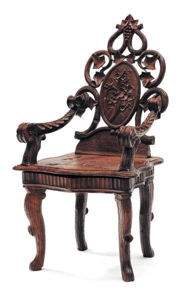 Petite chaise d'enfant Travail de la Forêt...