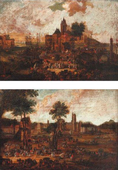 PIETER CASTEELS II (ACTIF À ANVERS EN 1673-1674)